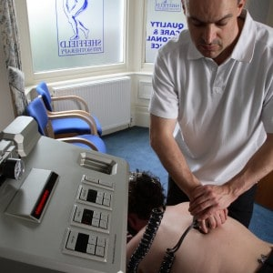 Man using Power Assisted Micro-manipulation