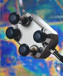pamm3 handset in closeup