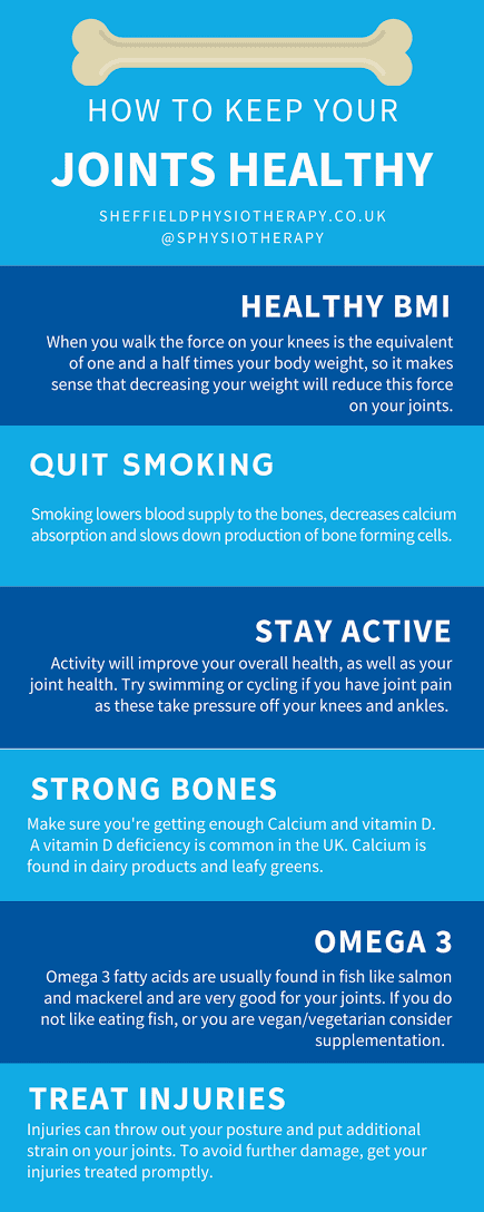 how to keep your joints healthy